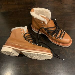 🆕 Rag & Bone Compass Sheepskin Boots